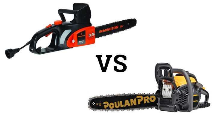 Electric Chainsaw Comparison - Corded Vs Cordless Chainsaws
