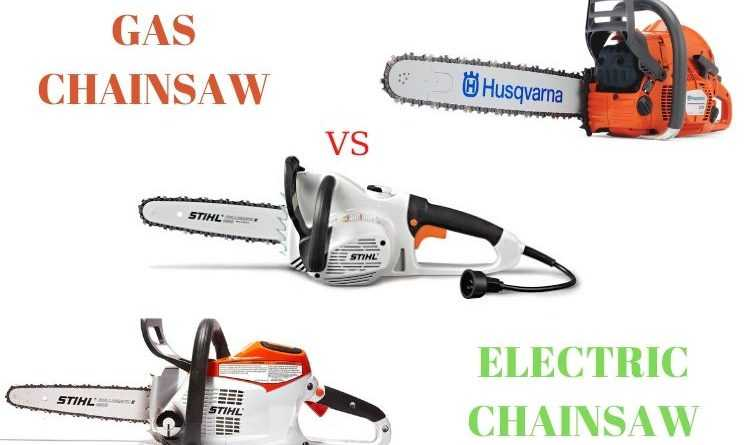 Electric Chainsaws vs Gas Chainsaws
