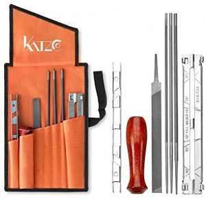 katzco Chainsaw Sharpener File Kit