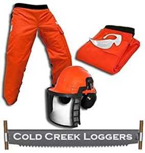Cold Creek Loggers Professional Forestry Cutter's Combo Kit