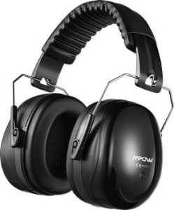 Roll over image to zoom in Mpow Noise Reduction Safety Ear Muffs