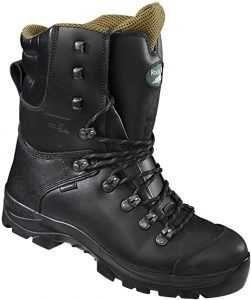 Rock Fall RF328 Chatsworth Black Chainsaw Boots Kevlar Steel Toe Cap Safety Boots