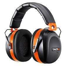 Noise Reduction Safety Ear Muffs, Tacklife NRR 28DB