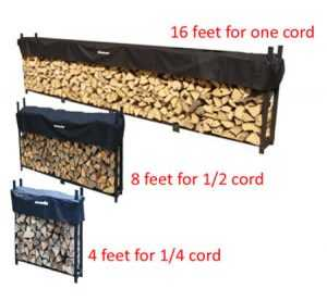 Storing Those Cords of Firewood